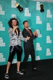 LMFAO at the 2012 MTV Movie Awards Press Room, Gibson Amphitheater, Universal City, CA 06-03-12 Stock Image