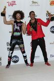 LMFAO na música 2012 do quadro de avisos concede o quarto de imprensa, Mgm Grand, Las Vegas, nanovolt 05-20-12 Imagens de Stock Royalty Free
