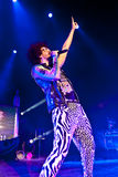 LMFAO Performing Live at Coliseu de Lisboa Royalty Free Stock Photos