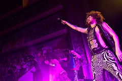 LMFAO Performing Live at Coliseu de Lisboa Royalty Free Stock Photography