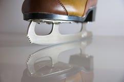 Lámina del patín de hielo Fotografía de archivo libre de regalías