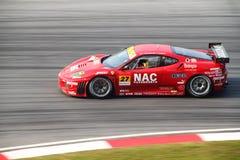 LMP Ferrari 27, SuperGT 2010 Imagen de archivo libre de regalías