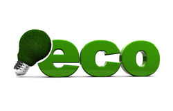 Lâmpada de Eco Imagens de Stock Royalty Free