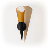 Lâmpada de parede com sombra Fotos de Stock Royalty Free