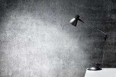 Lâmpada do escritório Foto de Stock
