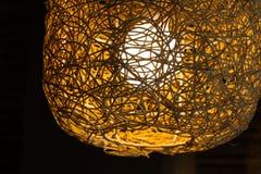 Lâmpada do Weave Fotografia de Stock Royalty Free
