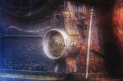 Lâmpada locomotiva de vapor Imagem de Stock Royalty Free