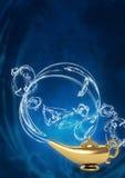 Lâmpada mágica Fotografia de Stock