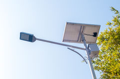Lâmpada solar Imagem de Stock Royalty Free