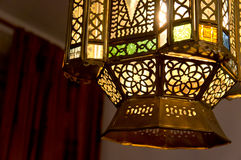 Lámpara asiática Foto de archivo libre de regalías
