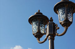 Lámpara de calle Imágenes de archivo libres de regalías