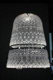 Lámpara de cristal soplada lujo Foto de archivo libre de regalías