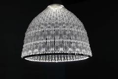 Lámpara de cristal soplada lujo Imagen de archivo