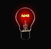 Lámpara de la idea Imagen de archivo