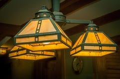 Lámpara de la lámpara para la decoración casera Foto de archivo