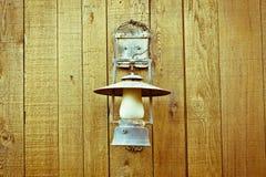 Lámpara de la vendimia Foto de archivo libre de regalías