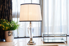 Lámpara de mesa llevada Imagen de archivo libre de regalías