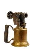 Lámpara de soldar vieja Imagen de archivo