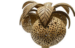 Lámpara del coco Fotografía de archivo