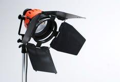 Lámpara del Redhead del estudio Foto de archivo libre de regalías
