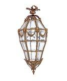 Lámpara del vintage aislada sobre blanco Fotografía de archivo