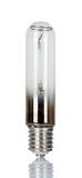 Lámpara económica de energía del sodio aislada en blanco Fotografía de archivo