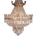 Lámpara en el estilo de la vendimia aislado en blanco - cl Foto de archivo