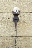 Lámpara medieval vieja Imágenes de archivo libres de regalías