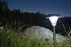 Lámpara para el uso al aire libre que hace la luz Imagen de archivo libre de regalías