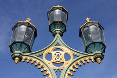 Lámparas de calle de Londres Fotos de archivo