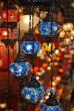 Lámparas turcas Imagenes de archivo