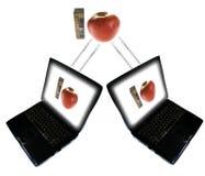 Lms d'apprentissage sur internet Photos libres de droits