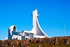 Lmur del ³ de StykkishÃ, Islandia Imagenes de archivo