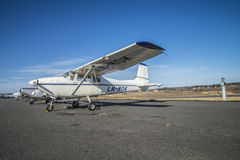 LN-MOK Cessna 182 Skylane. Cessna 182, being marketed nicknamed Skylane, is a four-seater light aircraft with one engine. It is standard fasteners to mount two Stock Photos