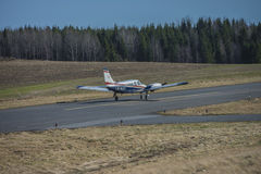 Piper PA-34-200T Seneca II, LN-MAT Stock Photography