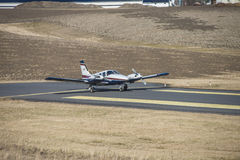 Piper PA-34-200T Seneca II, LN-MAT Royalty Free Stock Images