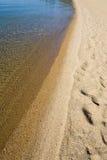 línea de la playa de Lake Tahoe Imagenes de archivo