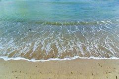 Línea de la playa pacífica Fotos de archivo libres de regalías