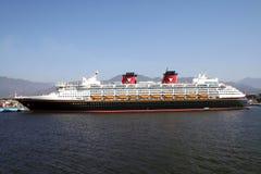 Línea de travesía de Disney Imagenes de archivo