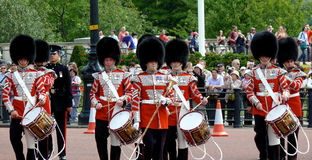 Línea del tambor Imagen de archivo libre de regalías