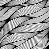 Línea ondulada inconsútil modelo Fotografía de archivo libre de regalías