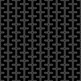 Líneas abstractas modernas del modelo de la geometría del vector fondo geométrico inconsútil blanco y negro Foto de archivo libre de regalías
