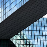 Líneas de fachadas abstractas Imagenes de archivo