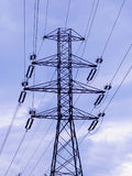 Líneas eléctricas Imagenes de archivo