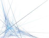 Líneas en el movimiento Foto de archivo libre de regalías
