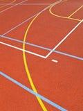 Líneas en la echada Fotos de archivo