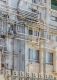 Líneas industriales del tubo Foto de archivo