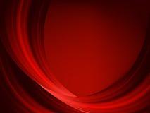 Líneas rojas finas abstractas en una obscuridad. EPS 8 Foto de archivo libre de regalías