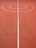 Líneas y círculos de los juegos de los deportes Foto de archivo libre de regalías