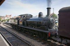 LNER J15类0-6-0蒸汽机车不 7564在北诺福克区铁路,谢林汉姆驻地,北诺福克区,英国- 8月19日 免版税图库摄影